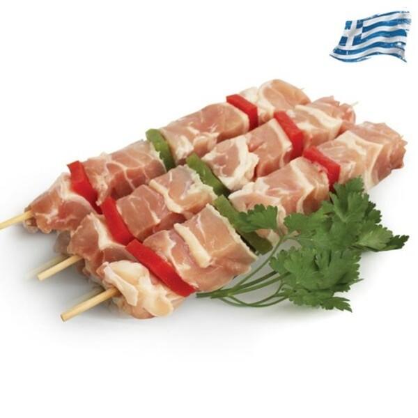 Καλαμάκι κοτόπουλο Ελληνικό