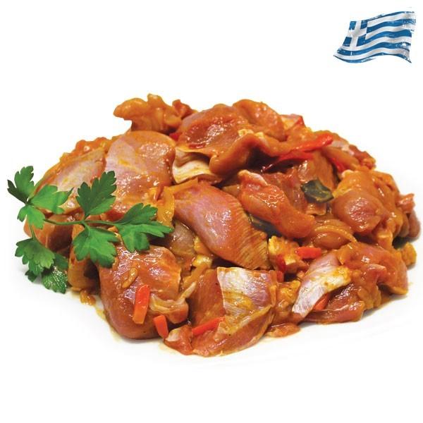 Τηγανιά κοτόπουλου Ελληνική