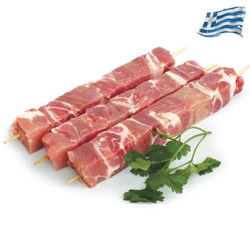 Σουβλάκι χοιρινό Ελληνικό