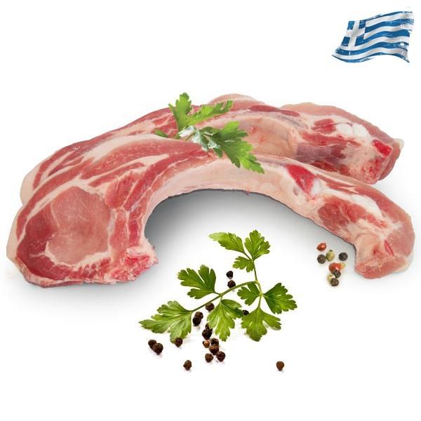 Χοιρινή μπριζόλα κόντρα Ελληνική